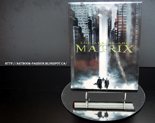 présentation artbook matrix art couveture