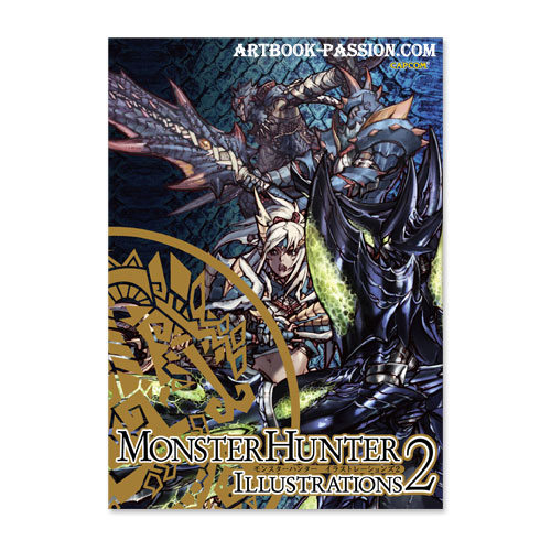 artbook monster hunter dragon illustrations 2