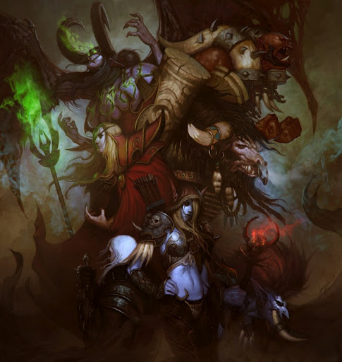 warcraft illustration world of warcraft wow